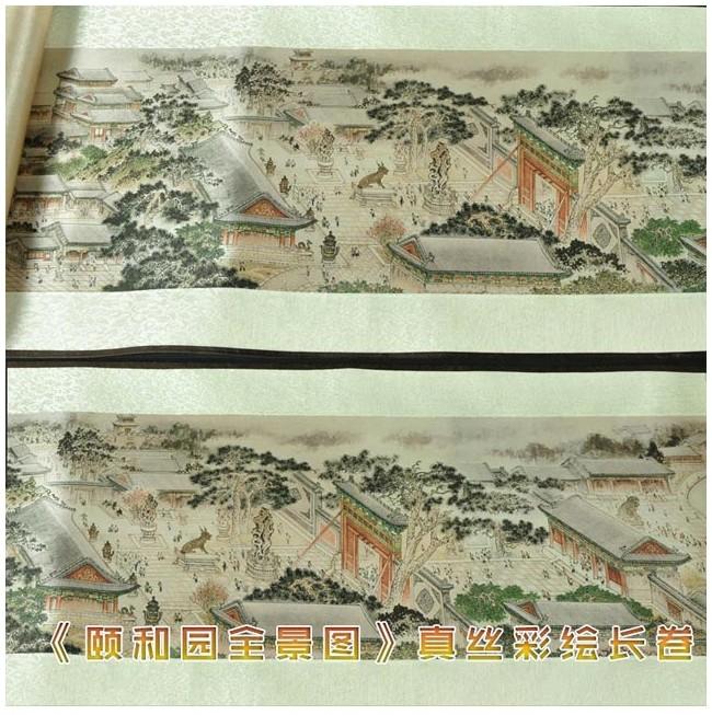 颐和园全景图
